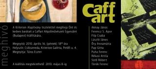 Meghívó: Csíkszereda, Kriterion Galéria