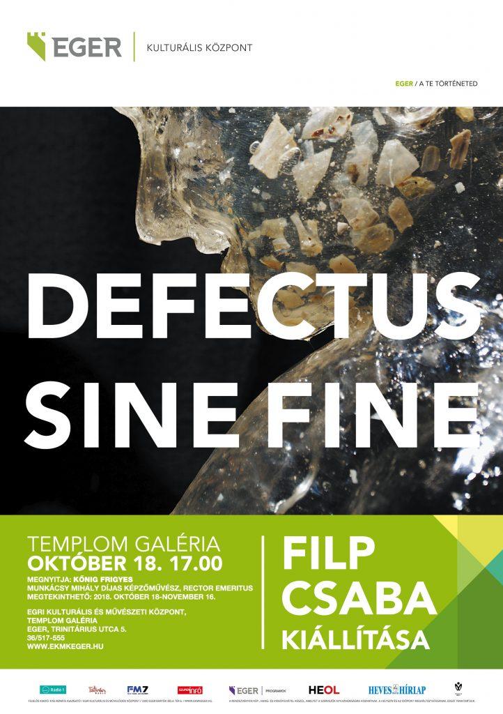 Defectus sine fine MEGHÍVÓ A5